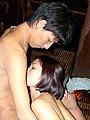 Wild and horny asian couple fucking
